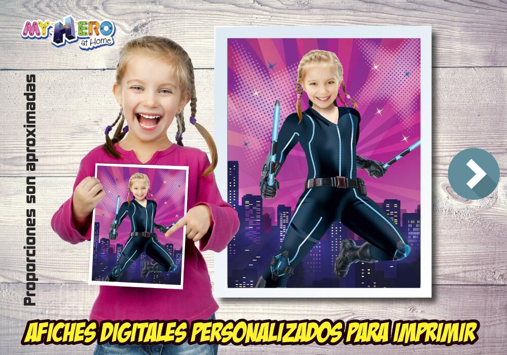 Afiche Personalizado de Black Widow, Decoración Black Widow, Afiche Black Widow. Fiesta Viuda Negra. 506SP