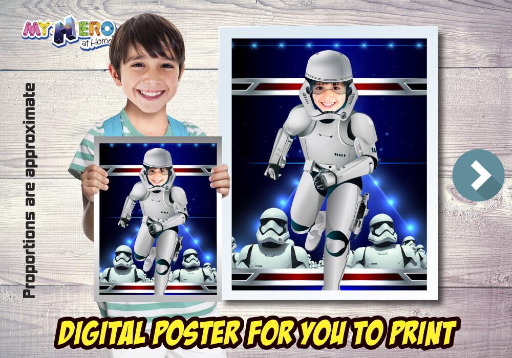 Stormtrooper Poster, Dark Side Poster, Stormtrooper Room Decor, Stormtrooper Fans, Stormtrooper Wall Decor, Stormtrooper Gifts. 499