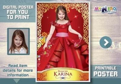 Princess Elena of Avalor Poster, Princess Elena Poster, Princess Elena of Avalor Decor, Princess Elena of Avalor Wall, Princesses Gifts. 517
