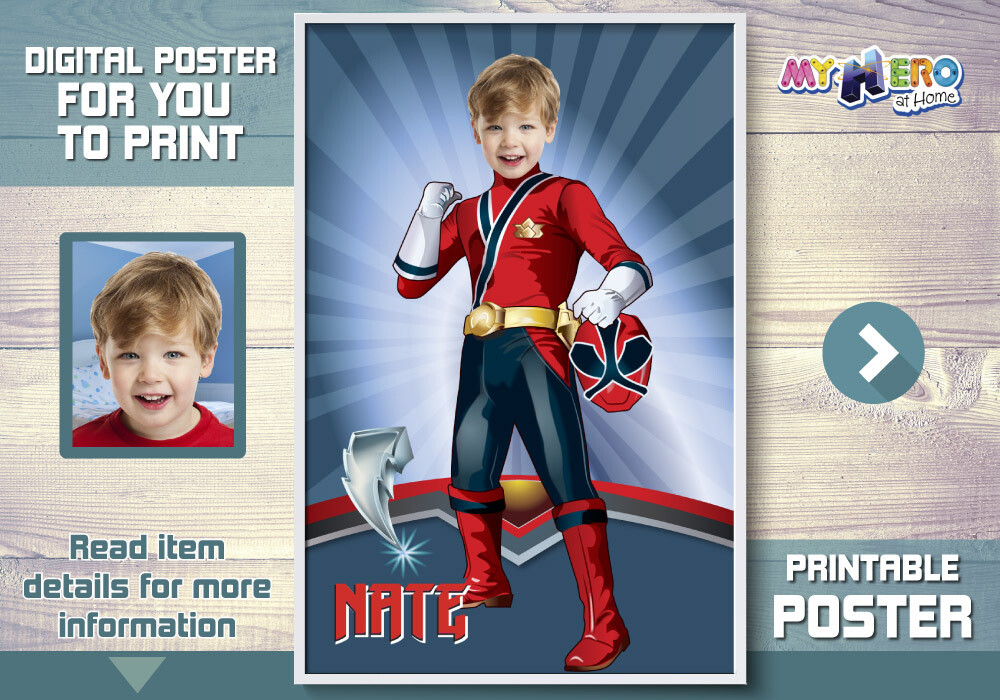 Power Rangers Poster, Power Rangers Decor, Power Rangers Backdrop, Power Rangers party Decor, Power Rangers theme. 464