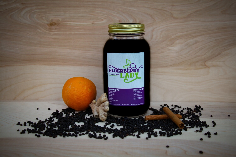 Elderberry Syrup - One Quart