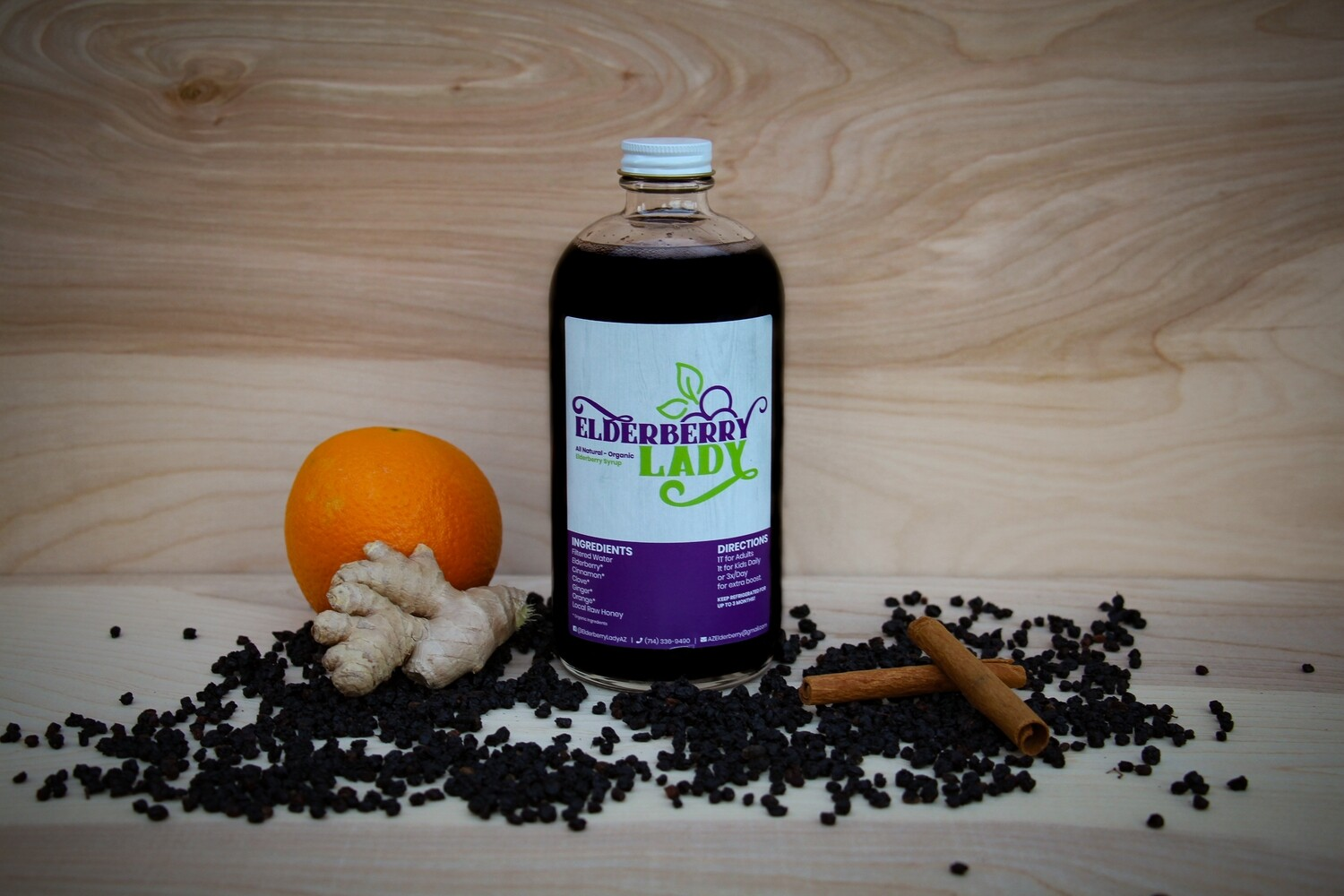 Elderberry Syrup - One Pint