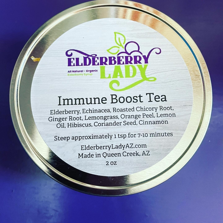 Organic Immune Boosting Loose Leaf Tea