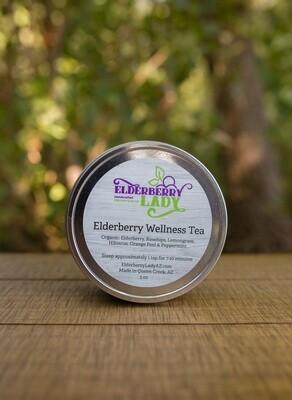 Organic Elderberry Wellness Loose Leaf Tea