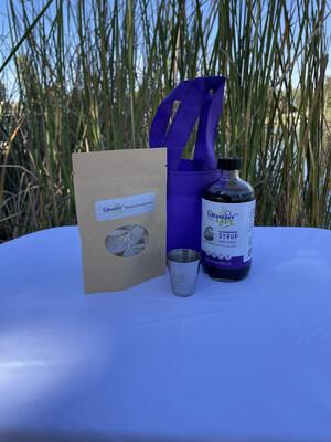 Elderberry Syrup/Tea Gift Set