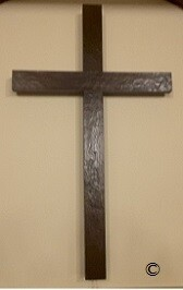 Old Rugged Wooden  Rustic Beam Crosses  60""