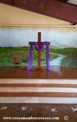 Traditional Altar Floor Cross - 36