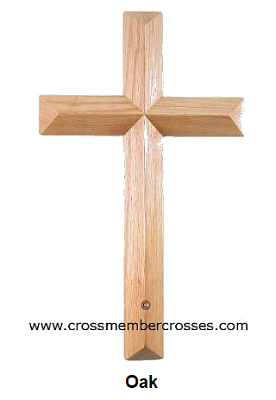"""Single Layer Beveled  Cross  8"""" up to 96"""""""