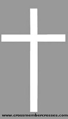 Exterior Aluminum Wall Crosses
