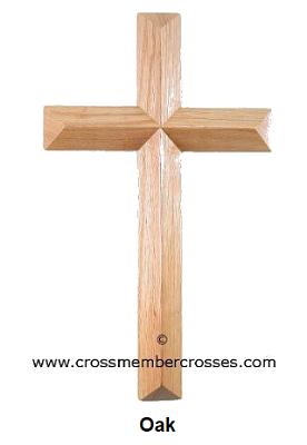 Single Layer Beveled Gift Crosses