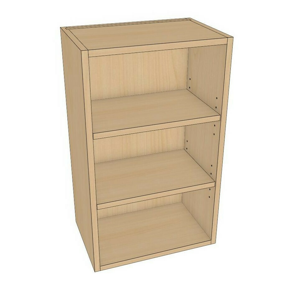 "Wall Cabinets - Maple Melamine (12""-18"")"