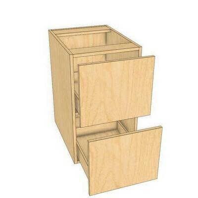 Base 2 Drawer unit -PF Birch (12