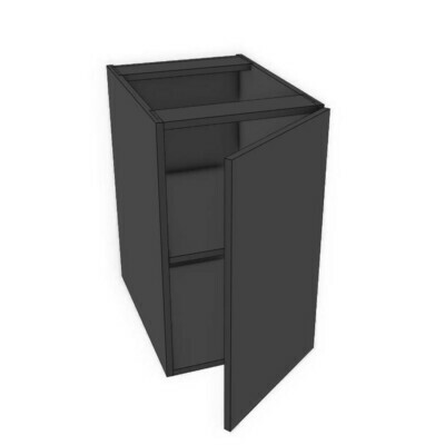 Base Cabinets - Black Melamine (12