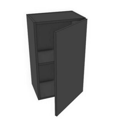 Wall Cabinets - Black Melamine (12