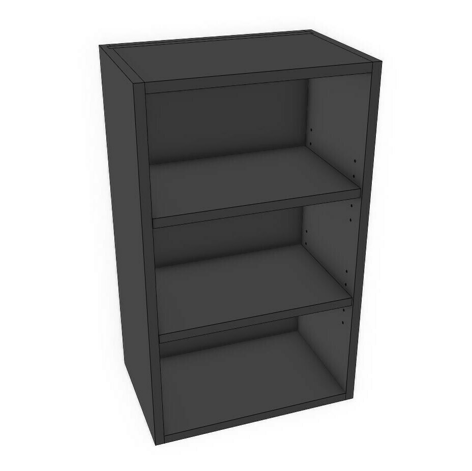 "Wall Cabinets - Black Melamine (12""-18"")"