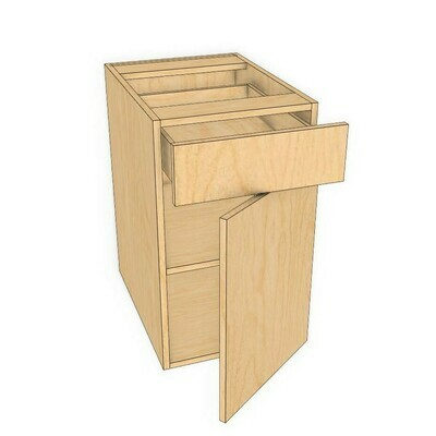 "Drawer Over Door - Pre Finished Birch (12"" - 18"")"