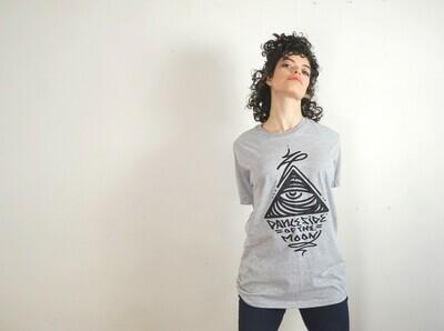 DANCE SIDE OF THE MOON (Grey) - TShirt Medium