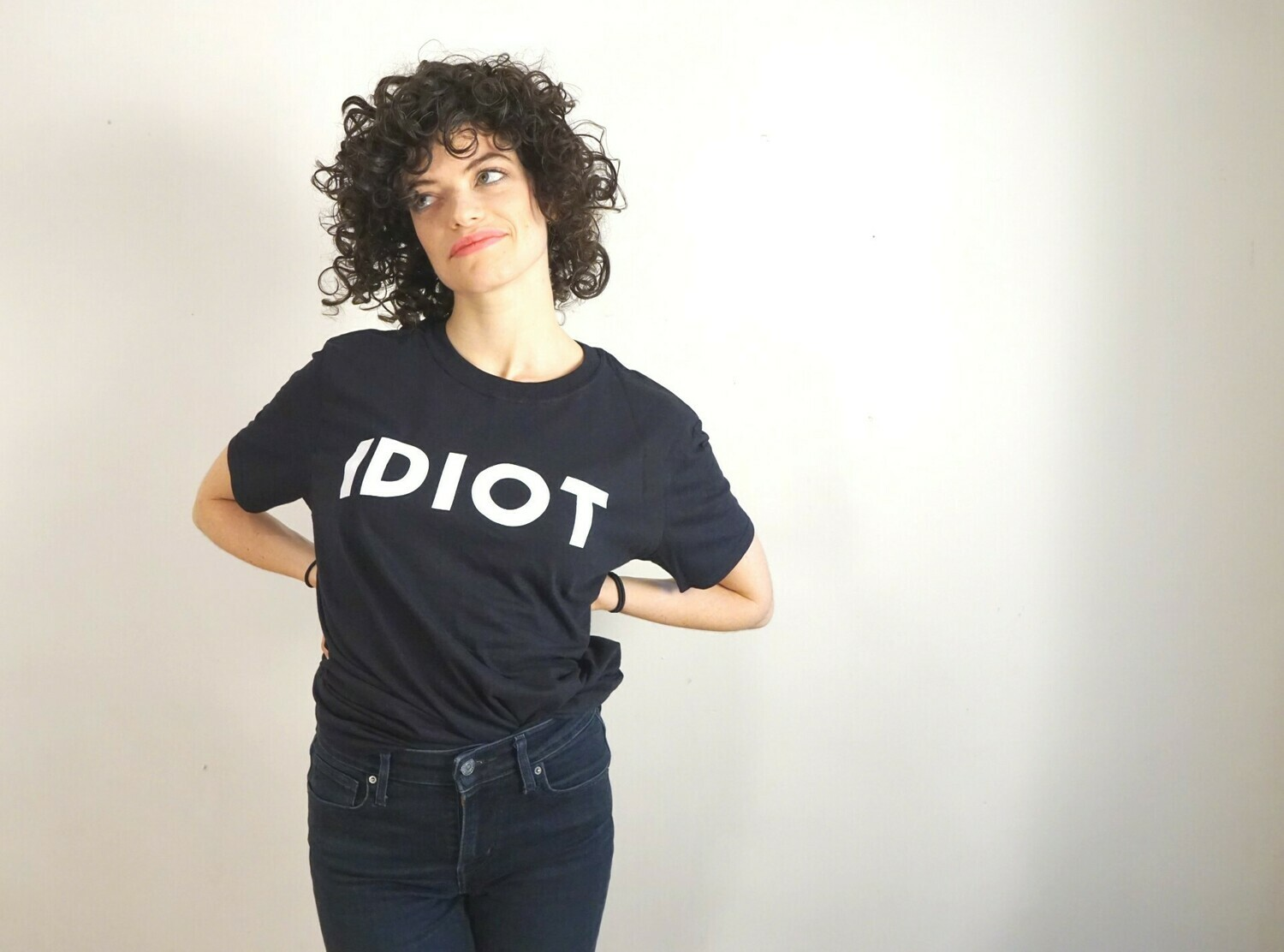 IDIOT - TShirt XL
