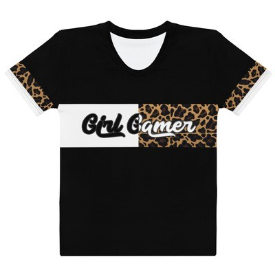 "Cheetah ""Girl Gamer"" T-shirt"