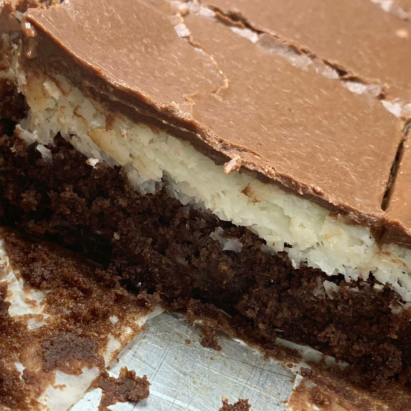 Keto almond joy bars