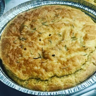 Foccacia Bread 10 slices/ bread