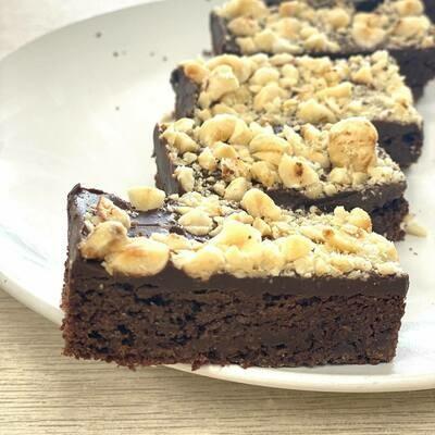 Hazelnut Nutella Brownies