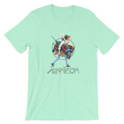 Short-Sleeve Unisex T-Shirt - 61st Allentown Art Festival