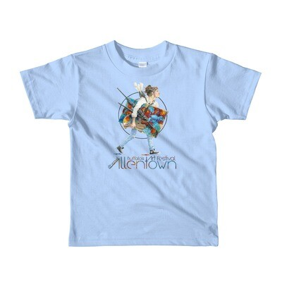 61st Allentown Art Festival Short sleeve kids t-shirt
