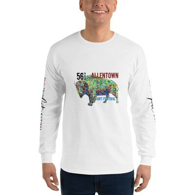 56th Allentown Art Festival - Long Sleeve T-Shirt - Printing Front & Sleeves