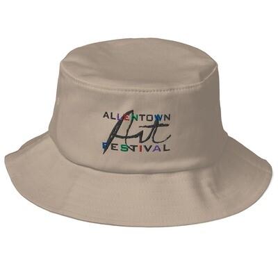 Allentown Art Festival Logo - Old School Bucket Hat