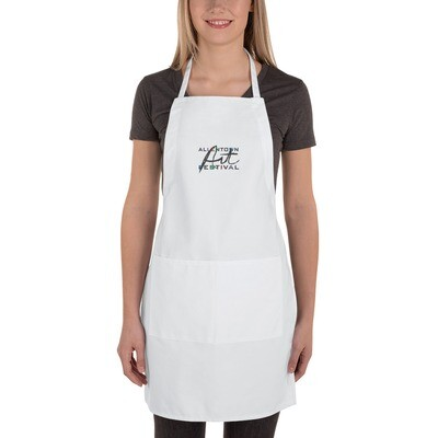 Allentown Art Festival Logo Embroidered Apron