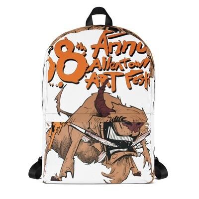 58th Allentown Art Festival - All Over Print Backpack