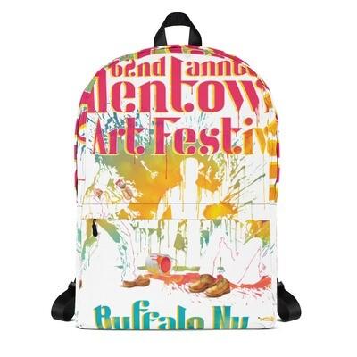62nd Allentown Art Festival - All Over Print Backpack