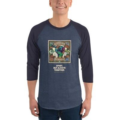 2020 3/4 sleeve raglan shirt