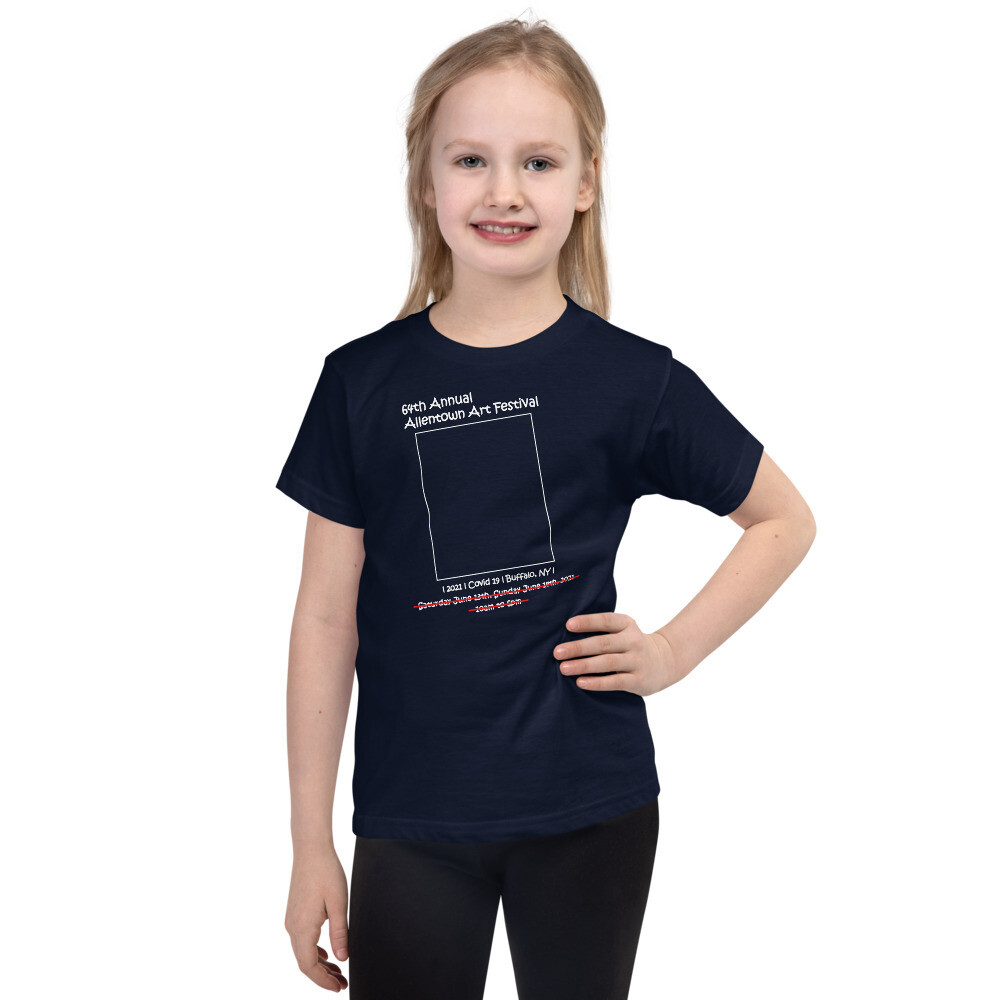 "64th Annual Allentown Art Festival ""cancelled"" Short sleeve kids t-shirt"