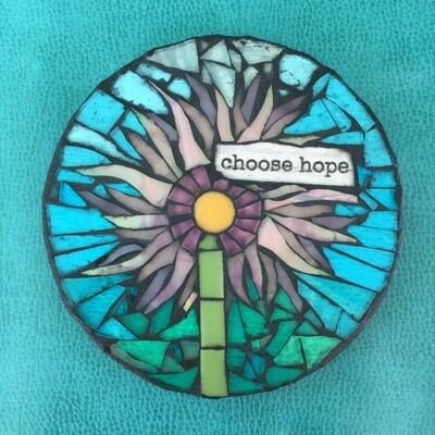 glass mosaics-choose hope
