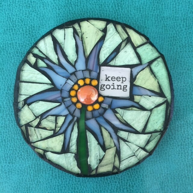 glass mosaics-keep going