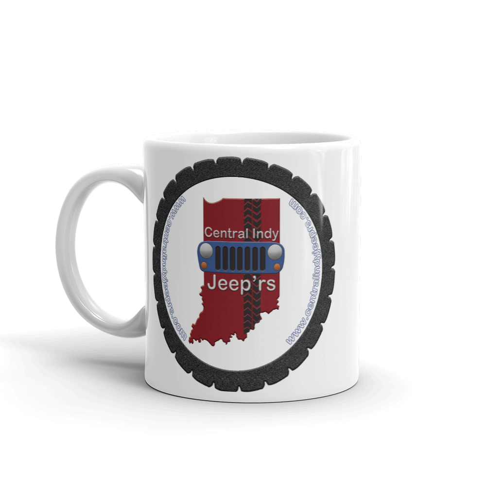 CIJ web addresss logo Mug