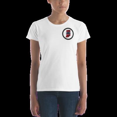 Women's short sleeve t-shirt Livin The Dream