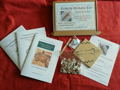 Children's Roman Mosaic Project Kit