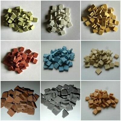 Mosaic tiles - Archaeological Series 10mm