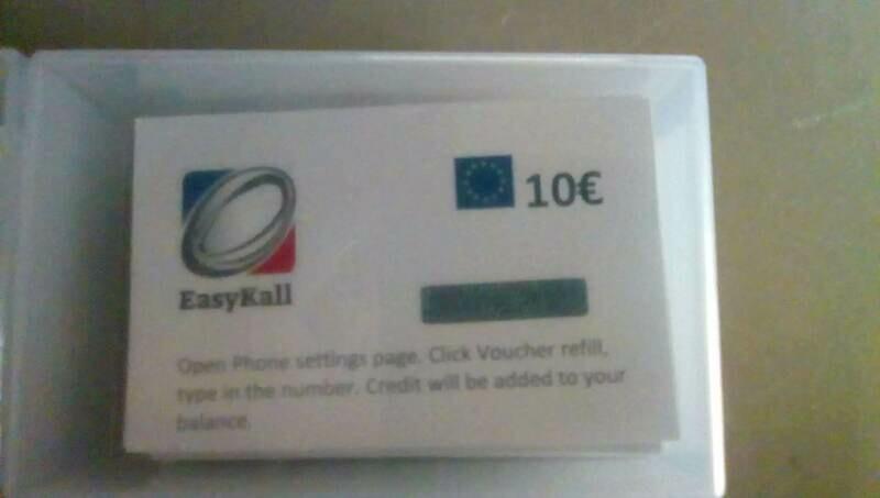 EasyKall Voucher, 10€