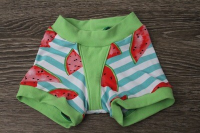 Size 4 Girl's Boxers - Watermelon