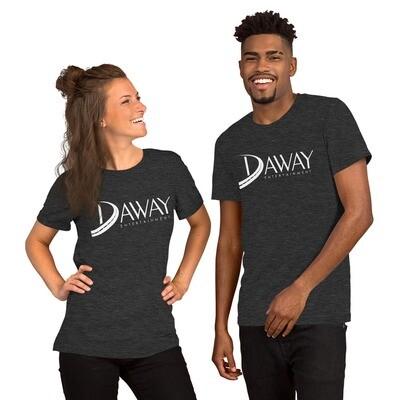 DAWAY White Short-Sleeve Unisex T-Shirt