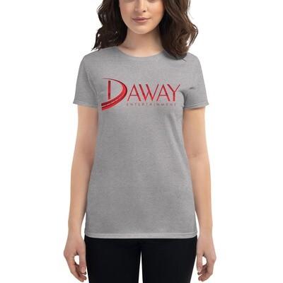 DAWAY Women's short sleeve t-shirt