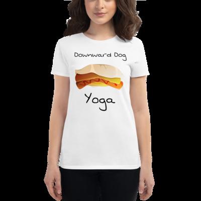 Downward Dog Women's short sleeve t-shirt