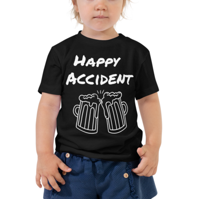 Happy Accident Toddler Short Sleeve Tee