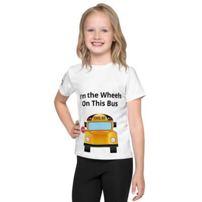 I'm the Wheels on This Bus Kids T-Shirt