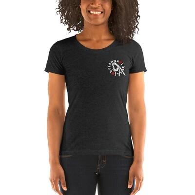 Ladies' short sleeve t-shirt - hand