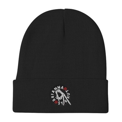 Embroidered Beanie - hand